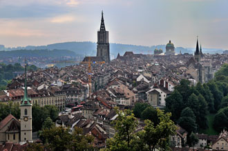 """Die Altstadt von Bern"", Foto © Friedhelm Denkeler 2010"
