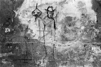 """Graffito"", Foto © Friedhelm Denkeler 1979"