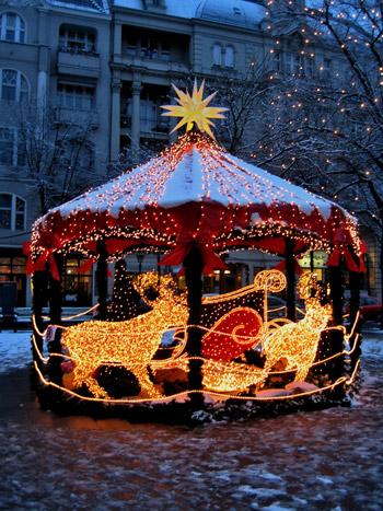 """""""Weihnachtliches Karussell"""", Foto © Friedhelm Denkeler 2008"""