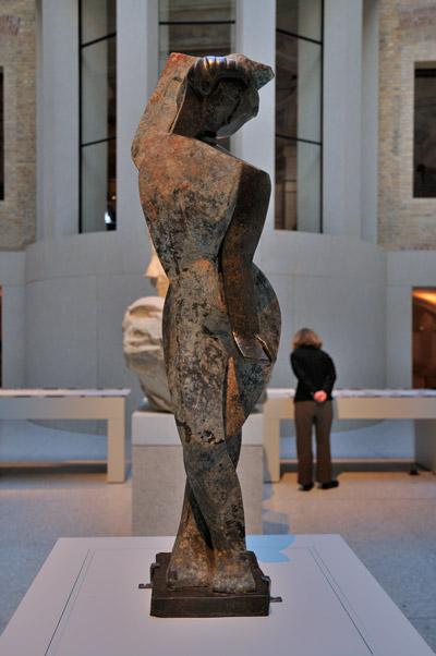 "Marg Moll, ""Tänzerin"", Foto © Friedhelm Denkeler 2011"