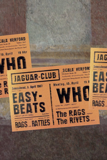 """Die Easybeats im Jaguarclub"", Foto © Friedhelm Denkeler 1967"