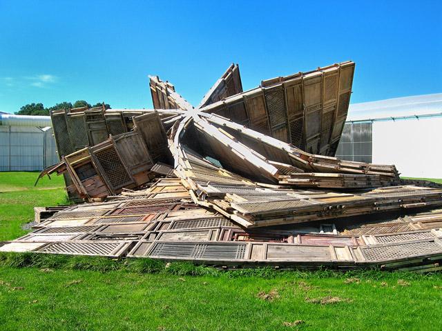 """""""Ai Weiweis Template"""", Foto © Friedhelm Denkeler 2007"""