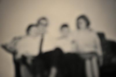 """""""Gerhard Richters 'Familie Schmidt' unscharf fotografiert"""", Foto © Friedhelm Denkeler 2011"""