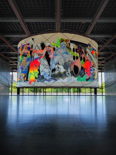 """Stellas Michael Kohlhaas-Panorama"", Foto © Friedhelm Denkeler 2011"