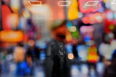 """""""Selbst im 'Out of Focus. Part One. New York City' von Nicole Hollmann"""", Foto © Friedhelm Denkeler 2011"""