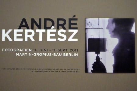 """André Kertész im Gropius-Bau"", Foto © Friedhelm Denkeler 2011"