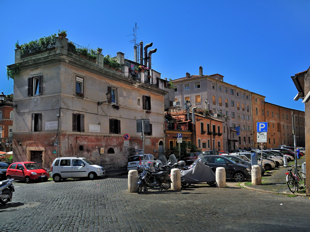 """Via di San Michele in Trastevere"", Foto © Friedhelm Denkeler 2011"