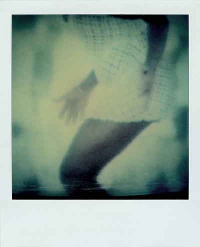 """Tina 2"", Polaroid SX-70, Foto © Friedhelm Denkeler 1990"