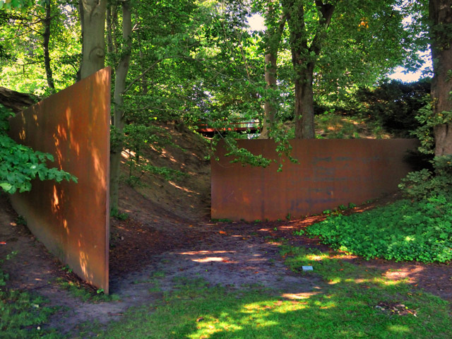 """Richard Serra: The Gate in the Gorge, 1986"", Foto © Friedhelm Denkeler 2011"
