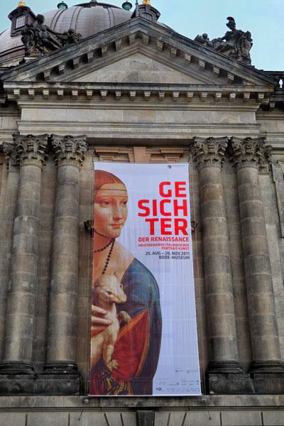 """Am Bodemuseum"", Foto © Friedhelm Denkeler 2011"