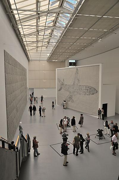 """""""Documenta 13: Die Documenta-Halle mit Arbeiten von Thomas Bayrle"""", Foto © Friedhelm Denkeler 2012"""