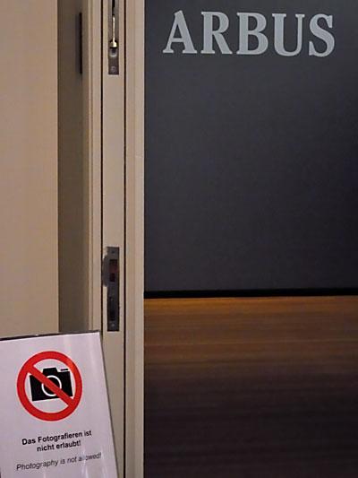 """""""Arbus und das Fotografierverbot"""", Foto © Friedhelm Denkeler 2012"""