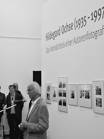 """Eröffnung der Ausstellung im Haus am Kleistpark"", Foto © Friedhelm Denkeler 2012"