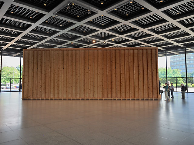 """Paul McCarthys 'The Box' in der Neuen Nationalgalerie"", Foto © Friedhelm Denkeler 2012"