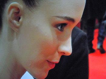 """""""Rooney Mara auf dem Roten Teppich"""",  Foto © Friedhelm Denkeler  2013"""