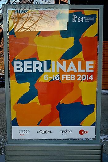 """""""Berlinale-Plakat"""", Foto © Friedhelm Denkeler 2014"""