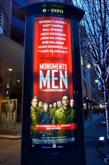 """The Monuments Men"", Foto © Friedhelm Denkeler 2014"