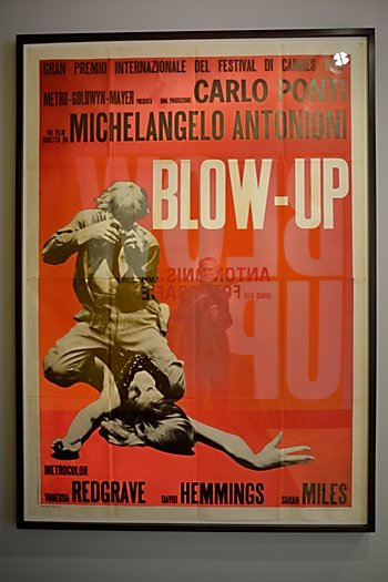 """Filmplakat Blow Up"", Foto © Friedhelm Denkeler 2015"