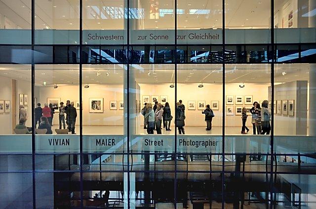 """""""Ausstellung 'Vivian Maier: Street Photographer' im Willy-Brand-Haus"""", Foto © Friedhelm Denkeler 2015"""