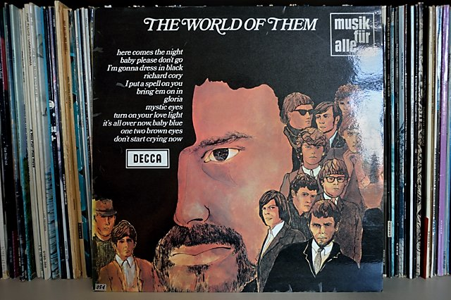 "Cover der LP ""The World Of Them"", 1972, Foto © Friedhelm Denkeler 2015"