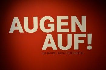 """""""Augen auf! 100 Jahre Leica Fotografie"""" bei C/O, Foto © Friedhelm Denkeler"""