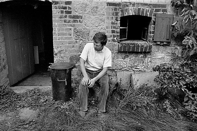 """""""Michael Schmidt in Schnackenburg"""", Foto © Friedhelm Denkeler 1980"""