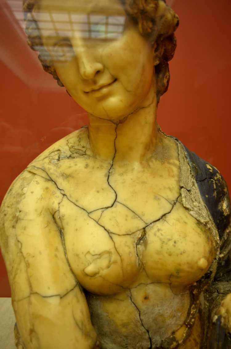 »Florabüste«, aus der Werkstatt des Leonardo da Vinci?, aus Wachs (Hohlguss), Bode-Museum Berlin, Foto © Friedhelm Denkeler 2016