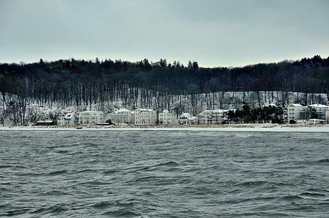 """""""Winter in Binz auf Rügen"""", Foto © Friedhelm Denkeler 2010"""