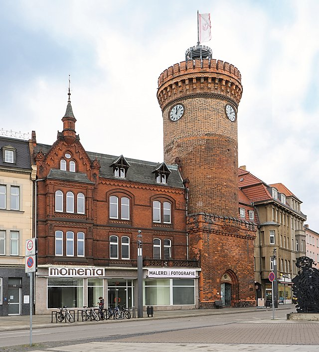 »Die momenta in Cottbus im Haus am Spremberger Turm«, Foto © Horst Hinder 2019