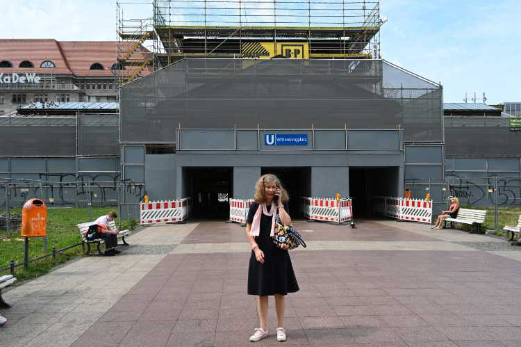 »Wo gehts denn hier zum Wittenbergplatz?«, Foto © Friedhelm Denkeler 2019
