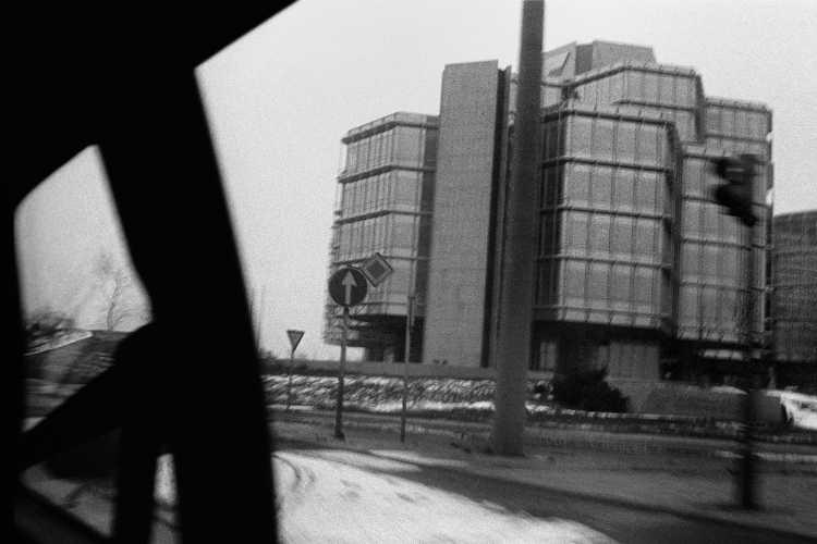 »Modernes Gebäude in Hannover«, Foto © Friedhelm Denkeler 1980