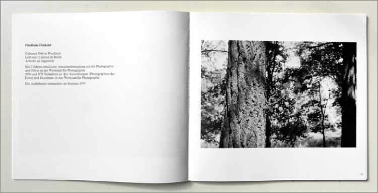 Katalog der Werkstatt für Photographie: »Michel Schmidt und Schüler«, Ausstellung in der Werkstatt für Photographie«, 28.01. bis 29.02.1980