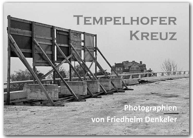 Künstlerbuch »Tempelhofer Kreuz» von Friedhelm Denkeler