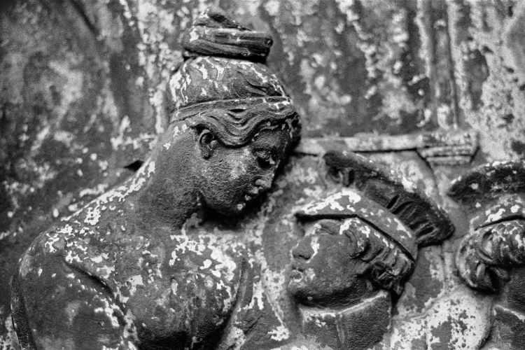 »Abschied« (Denkmal Unter den Linden, Berlin), Foto © Friedhelm Denkeler 1991