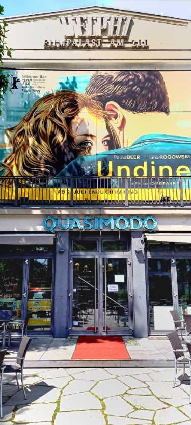 Delphi-Filmpalast mit »Undine« von Christian Petzold, Foto © Friedhelm Denkeler 2020