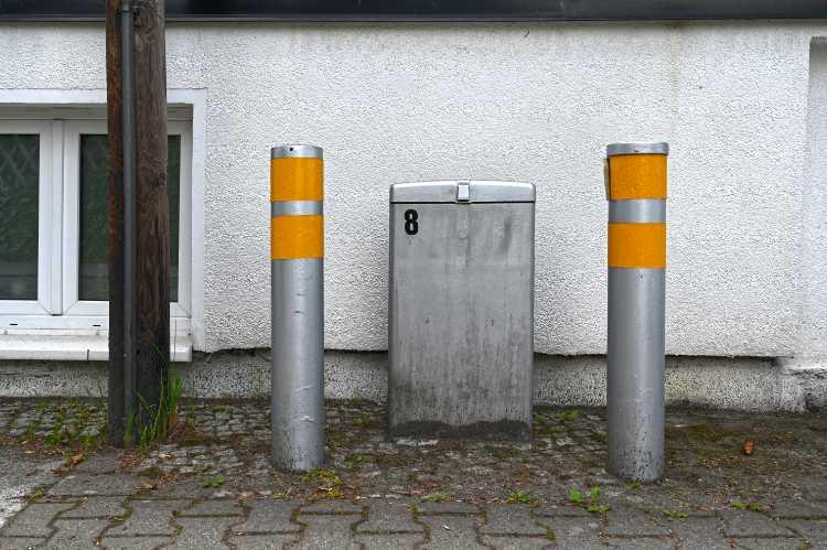 »Gesicherter Verteilerschrank«, Foto © Friedhelm Denkeler 2020