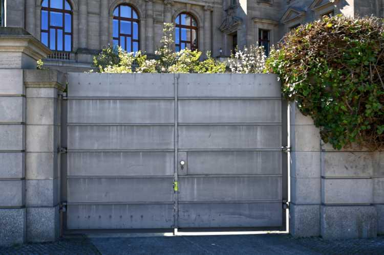 »Verriegeltes Regierungsviertel«, Foto © Friedhelm Denkeler 2020
